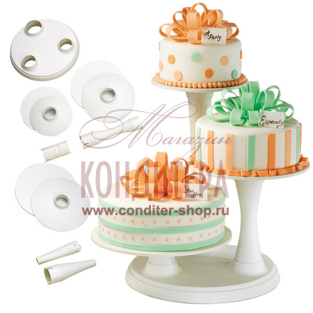 Подставки пластиковые для тортов